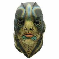 The Shape of Water Mask Horror Merman Fish Latex Masks Cosplay Costume Halloween Party