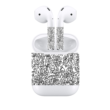 cba4d6ca087 Best Price Factory Produce decoration sticker For Apple Airpods skin ...