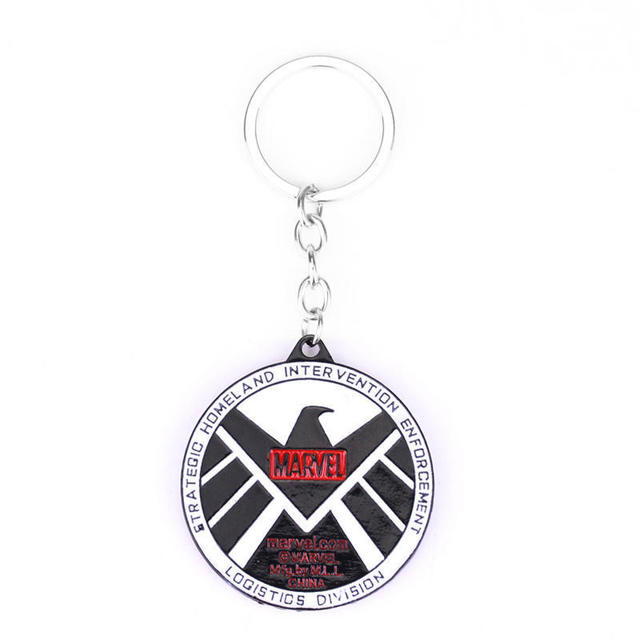 The Avengers Aegis Agents Of Shield Logo Keychain (10 Designs) 11