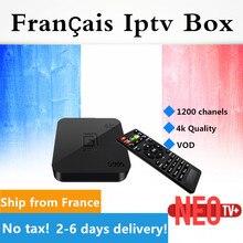 Французский IPTV gotit S905 Android TV Box выберите qhdtv бельгийский арабский голландский Европа IPTV VOD H.265 4 К Amlogic S905 quad-core