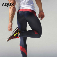 AQUX Brand Clothing Pants Men Sweatpants Gym Clothing Fitness Costume Mens Trousers Tights Sweat Pants Compression