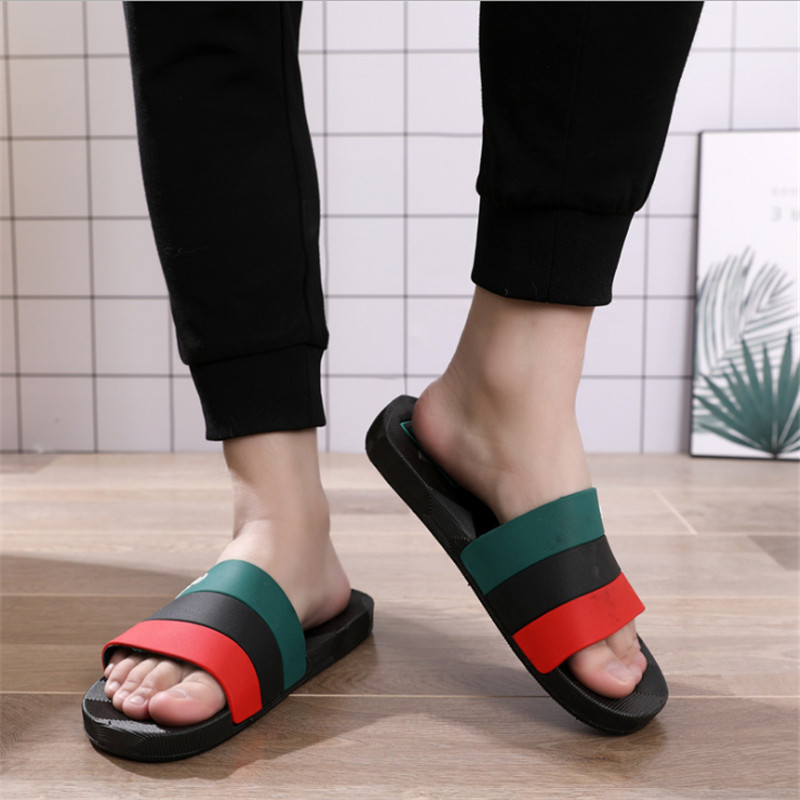 Men's Shoes Flip Flops Summer Men Slippers New Fashion Design Slides Man Outdoor Male Casual Slipper Man Plus Size 40-50