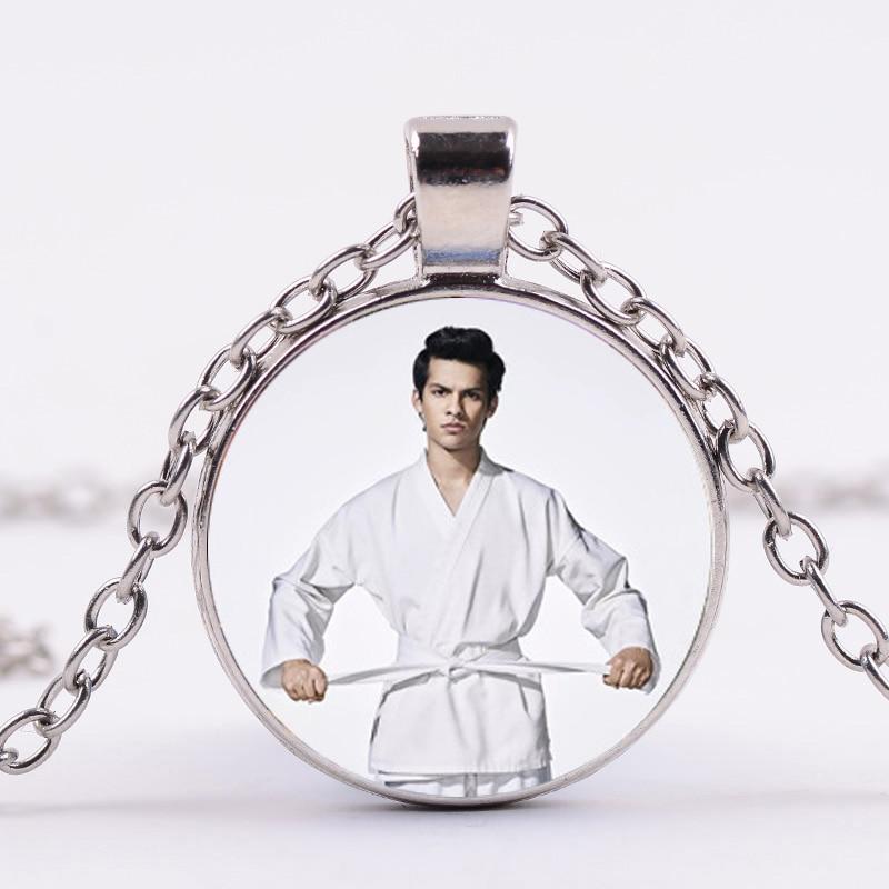 Karate Kid Cobra Kai Glass Domed Pendant Necklace
