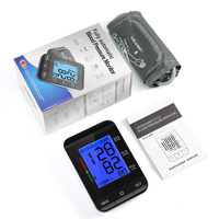 Medical Arm Blood Pressure Monitor Cuff With Digital Display Home Health Care Automatic Measure Heart Beat Meter Machine