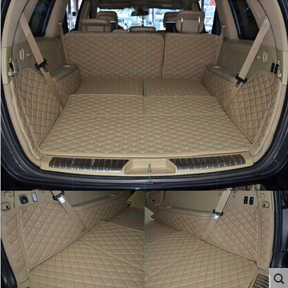 CHOWTOTO AA Benz Özel GL350 Trunk Paspaslar 7 seats MB GL 350 - Araç Içi Aksesuarları - Fotoğraf 2