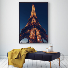 No Frame Canvas Painting Picture Paris Tower Painting Paintings On The Wall Home Decoration Modular Painting On The Wall focal on wall frame iw 1003 rough