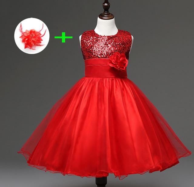 ac127fd7e5ac8 Enfants de mariage robe pour 3 ans à 11 ans enfants fille vêtements  princesse longueur au