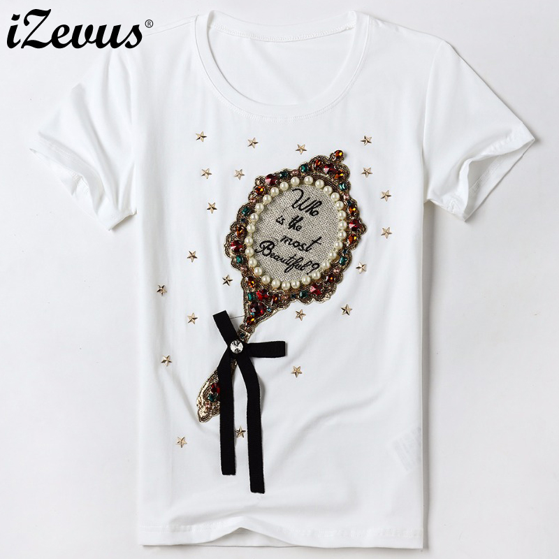 db30418f8a Buy pearl tshirt and get free shipping on AliExpress.com