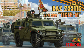 """1/35 Russian Gaz 233115 """" Tiger - M"""" Armored Vehicles Special Operations Vs - 008"""