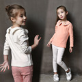 2016 New Fashion spring Baby wear Girl Clothes Cartoon Cute T-Shirts Basic Cotton Knit Tops kids t shirt girls clothes