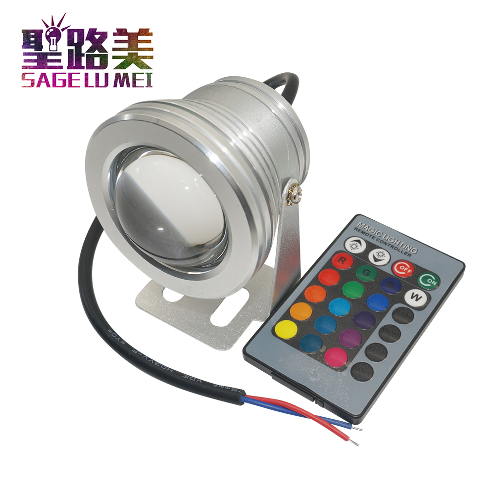 10w 12v Underwater Rgb Led Light 1000lm Waterproof Ip65 Fountain Pool Lamp 10w Led Power Transformer Customers First Ir Remote