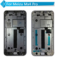 For Meizu Mx4 Pro LCD Display Touch Screen Digitizer with Frame black white