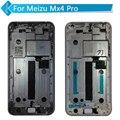 Para meizu mx4 pro display lcd de toque digitador da tela com moldura preta branco