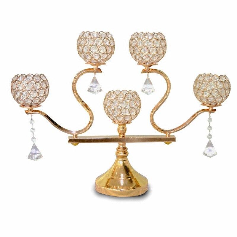 ①Woondecoratie kandelaars bruiloft decoratie candelabros Ijzer 5 ...