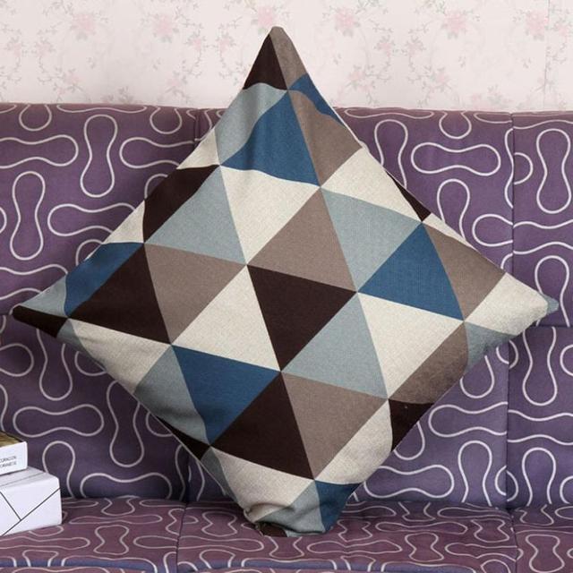הכי חדש גיאומטרי חדש כריות נוי כריות כריות בית תפאורה אבר Dropship dig6220