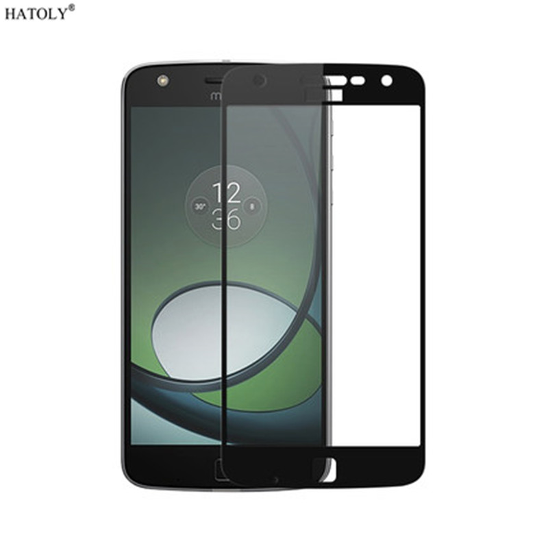 2pcs Screen Protector Glass For Moto Z Play Anti-Burst Tempered Glass For Moto Z Play Full Glass For Moto Z Play XT1635 HATOLY