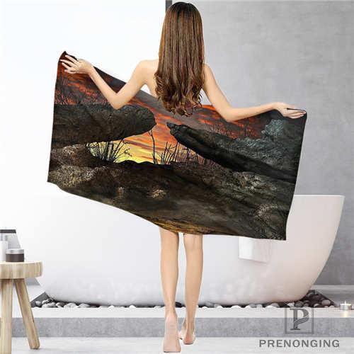 Custom Magical Background (1)Bathroom Washcloth Towels Face TowelBath Towel Shower Towels Size 33x74cm72x143cm#18-12-16-02-154