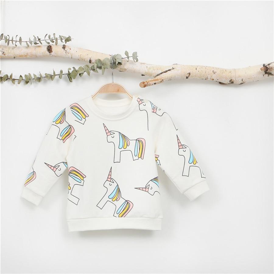 00f6651f4 EnkeliBB Kids Autumn Sweatshirt Cartoon Lovely Baby Clothes Girls ...