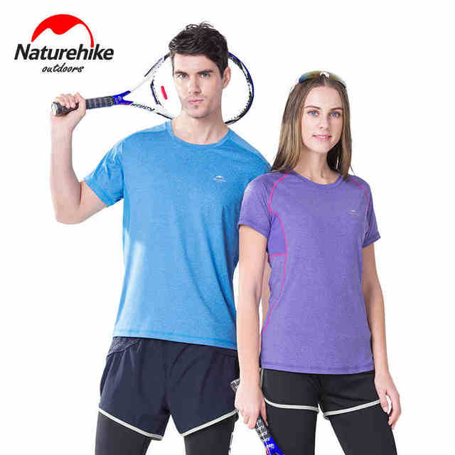 9c969b2364f5 New Summer Sport T-shirt Breathable Quick Dry Unisex Men Women  Short-sleeved Shirt for Couple Outdoor Hiking Climbing Running