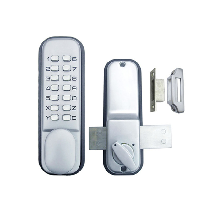 Keyless Mechanical Keypad Code Digital Locker Home Entry Security Safety Door  Lock 1702