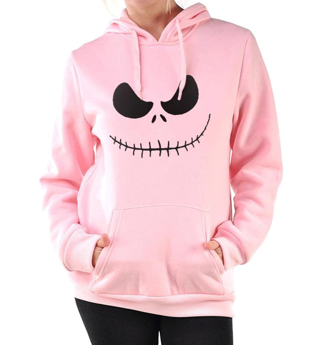 fitness brand clothing hip hop pullovers funny kpop Smile sweatshirts femme Jack Skellington tracksuits hoodies 2017 fashion mma