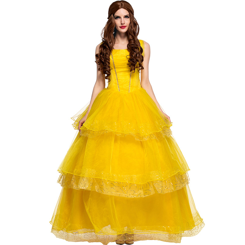 Sexy Beauty And The Beast Girl Children Women 2017 Cosplay ...
