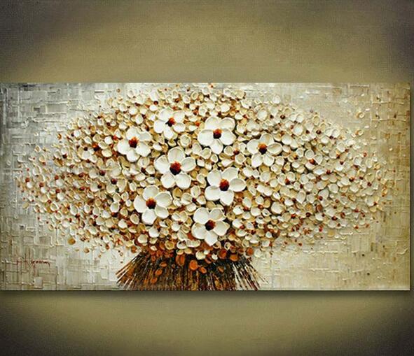 100 Pintado A Mano Decoracion Del Hogar Moderno Arte De La Pared