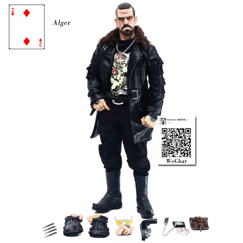 DAMTOYS 1/6 Scale Action Figure Model Toys <font><b>Gangsters</b></font> <font><b>Kingdom</b></font> Diamond 2 Alger Figure Model Play Toy Set For Collection,Gift image