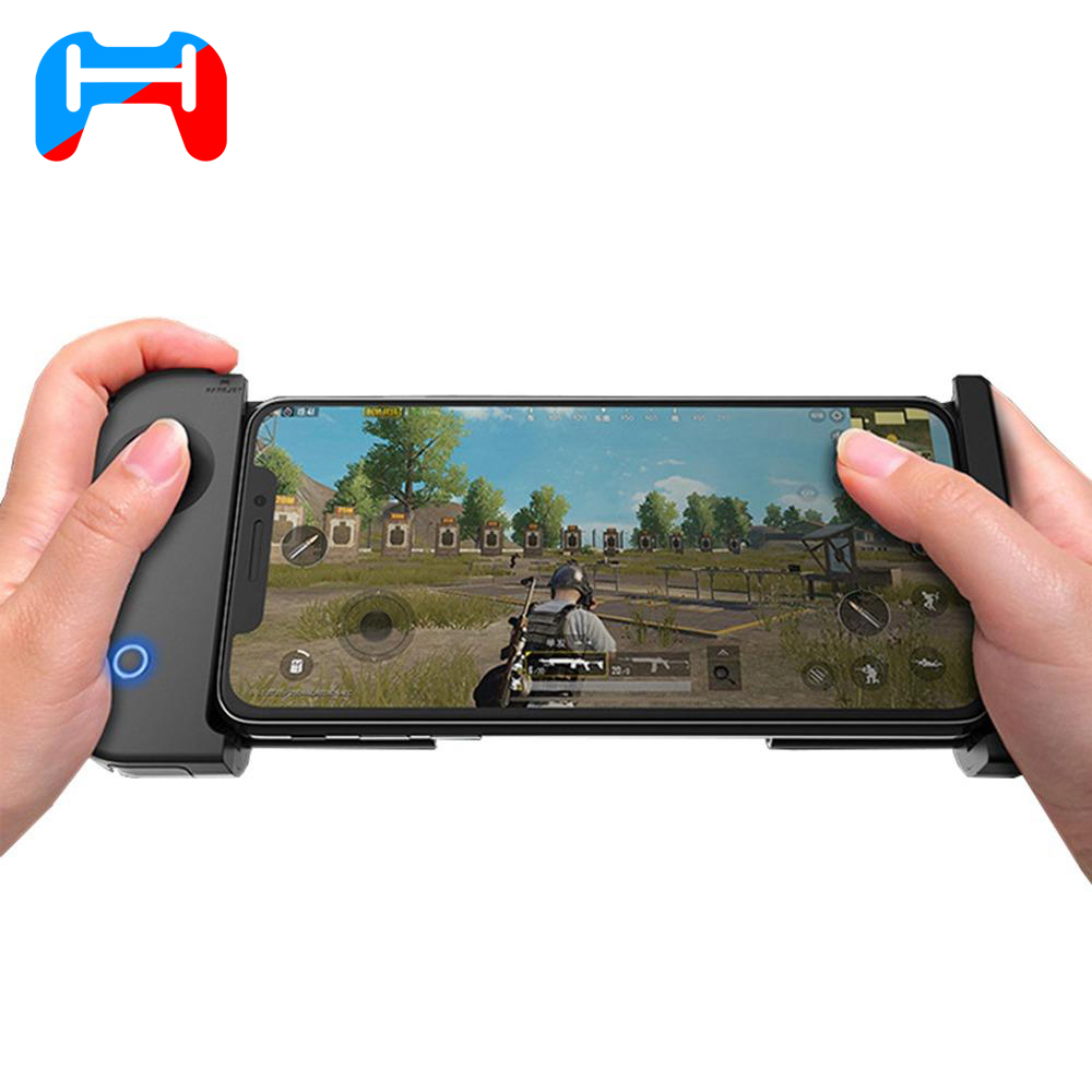 HandJoy X-MAX Wireless Bluetooth 4.0 Singe-hand Game Controller with Telescopic for Android/IOS Smartphone Phone Controller