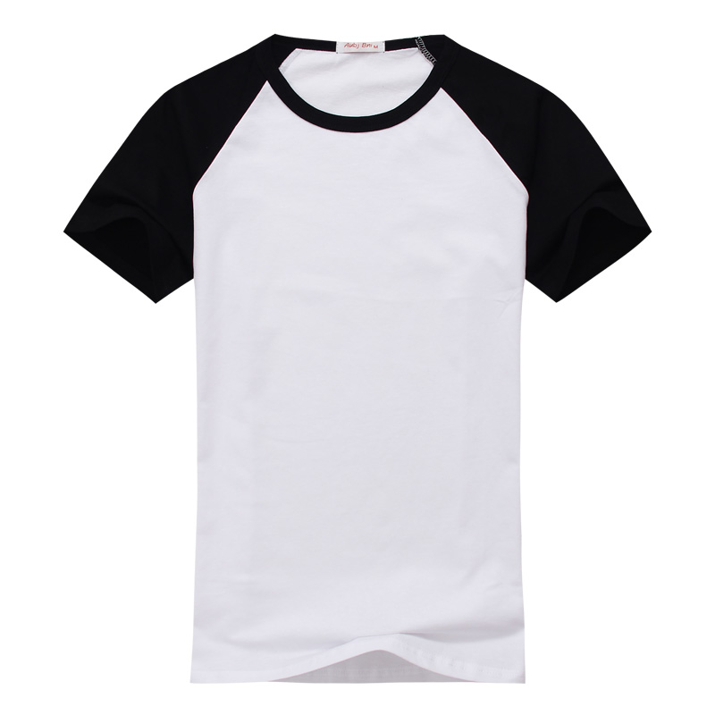 Street style men sports t shirt men raglan short sleeved for Dress shirts for athletic guys