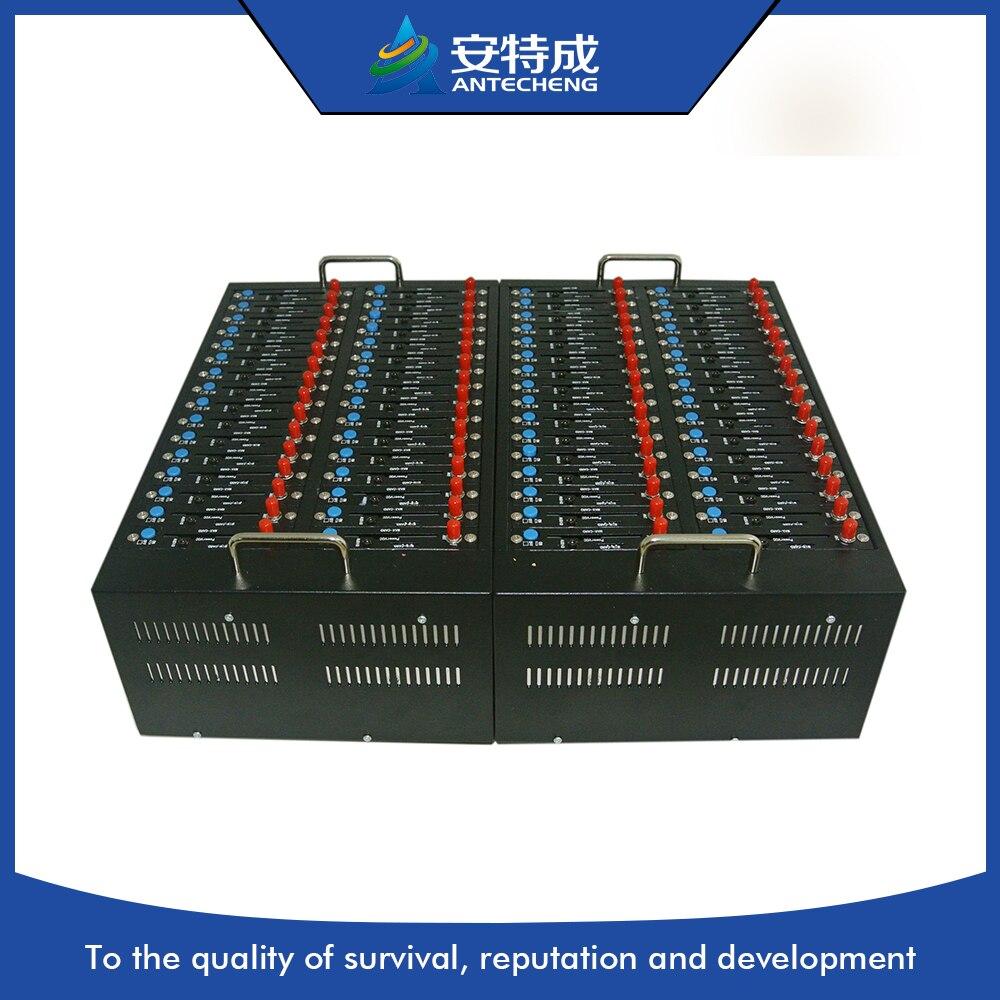 64 портов мульти сим смс gsm модем, 64 sim gsm модем для смс, зарядки, USSD, 64 порта смс модемный пул