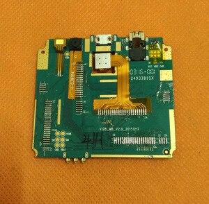 Image 2 - Utilizzato mainboard Originale 1G di RAM + 8G ROM Scheda Madre per VKworld F1 MTK6580 Quad Core da 4.5 pollici di Trasporto trasporto libero