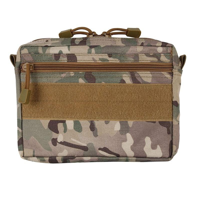 600D Nylon Plug-in Debris Waist Bag Hunting Tool Bag Pouch Molle Military Combat Gear EM8337 Multicam Coyote