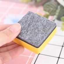 2 шт./компл. белая доска очиститель магнитно-маркерная доска ластики в форме сухое стирание маркер школьные канцелярские принадлежности