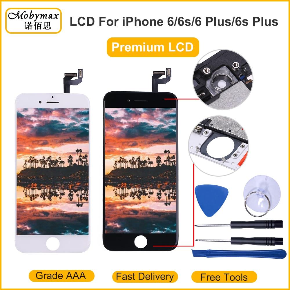 2019 100% aaaa tela lcd original para o iphone 6s 7 mais tela lcd digitador do módulo de toque telas substituição lcds