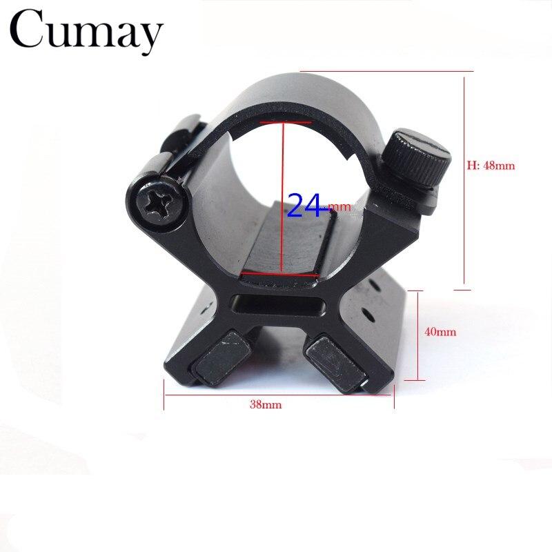 Blende 24-26,5mm Typ X Magnetic Taktische Taschenlampe Gun Mount Halter fahrrad-zubehör Für Led Taschenlampe Lanterna