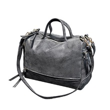 New Arrive Women Shoulder Bag Nubuck Leather Vintage Messenger Bag Motorcycle Crossbody Bags Women Bag