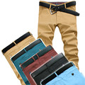 2016 High Quality Men's Twill Pants Mens Pants Casual Fashion Chinos 5 Colors Mens Casual Pants Size28-38 989