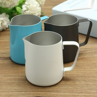 600ml Stainless Steel Milk Frothing Jug Cup Mug Espresso Coffee Pitcher Barista Craft Coffee Latte Milk