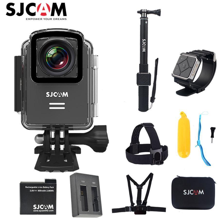 100% Original SJCAM M20 Wifi 4K 24fps NTK96660 16MP GYRO Stabilization 30M Waterproof Sports Action Camera Car Mini DVR