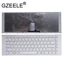 GZEELE nowy dla SONY VAIO VPCEG11FX 9Z.N7ASW.101 9Z.N7ASM.002 VPC EG2CFX VPC EG2AGX VPC EG1AFX biały US angielska klawiatura