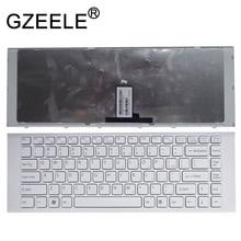 GZEELE nuevo para SONY VAIO VPCEG11FX 9Z.N7ASW.101 9Z.N7ASM.002 VPC EG2CFX VPC EG2AGX VPC EG1AFX blanco nos teclado en inglés