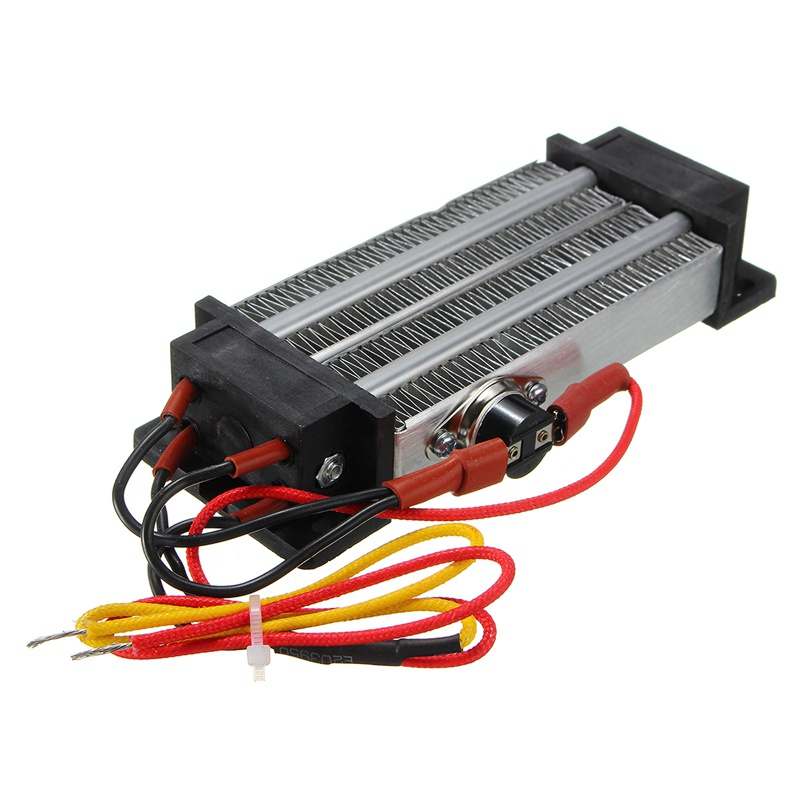 220V 500W Electric Ceramic Thermostatic PTC Heating Element Heater Surface Insulation Constant Temperature Air Heating