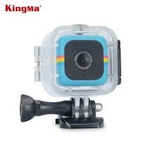 KingMa שקוף מקרה עמיד למים עבור פולארויד קוביית קובייה + מקרה דיור צלילה מצלמה מתחת למים 45 M פעולה וידאו עמיד למים