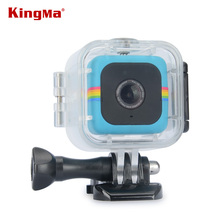 KingMa Прозрачный Водонепроницаемый Чехол для Polaroid Куба и Куб + Действие Видеокамера Подводные 45 М Водонепроницаемый Погружение случае Жилье