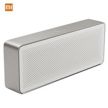 Оригинальный Xiaomi Bluetooh Динамик 2 Xiaomi квадратная коробка Динамик 2 Беспроводной Портативный стерео мини Hi-Fi Bluetooth открытый сабвуфер