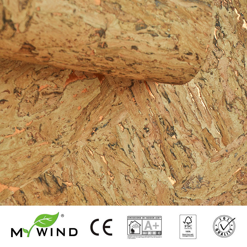 3D Wallpaper In Roll Decor European aristocracy 2019 MY WIND wooden Luxury Decoration 100 Natural Material Safety Innocuity in Wallpapers from Home Improvement