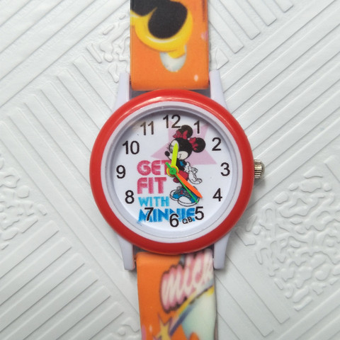 Cartoon mickey children watch digital electronic kids watches for boys girls gift Student clock Christmas gift child wristwatch Lahore