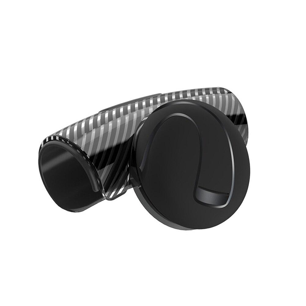 Botão do carro flexível fácil instalar rotação spinner anti-deslizamento universal silicone volante impulsionador ferramenta alça de controle de ajuda