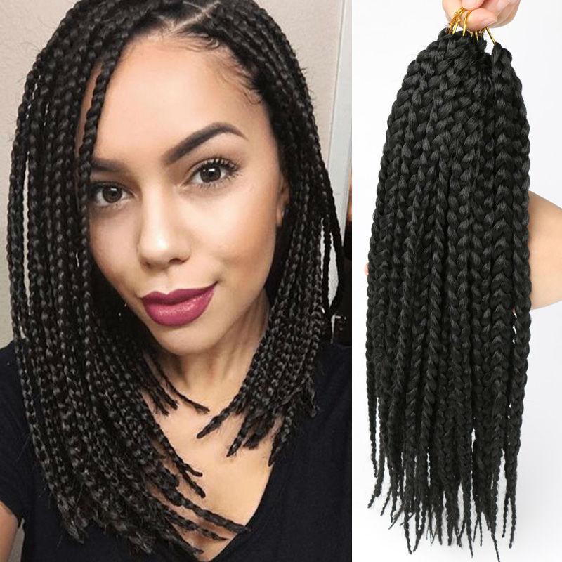 crochet braid hair box braids marley